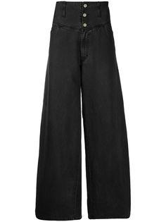 Raf Simons джинсы широкого кроя
