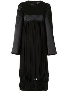 Comme Des Garçons платье миди со вставками