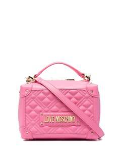 Love Moschino маленькая каркасная сумка Trunk