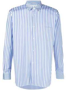 Comme Des Garçons Shirt полосатая рубашка с длинными рукавами