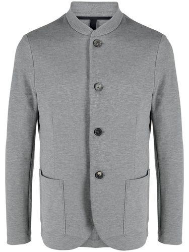 Harris Wharf London однобортный пиджак с воротником-стойкой