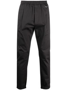 Low Brand зауженные брюки со складками