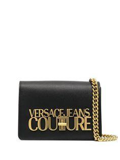 Versace Jeans Couture маленькая сумка через плечо с логотипом