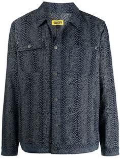 Chinatown Market джинсовая куртка со змеиным принтом