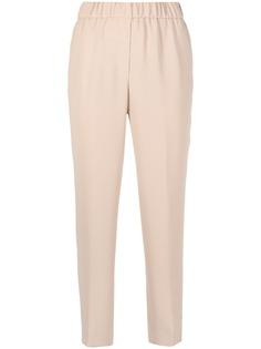 Peserico укороченные брюки прямого кроя