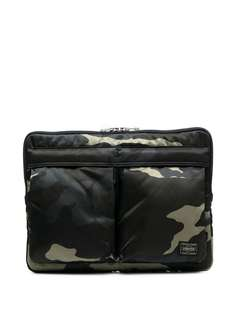Porter-Yoshida & Co сумка для ноутбука с камуфляжным принтом