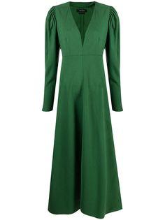Isabel Marant платье миди с V-образным вырезом