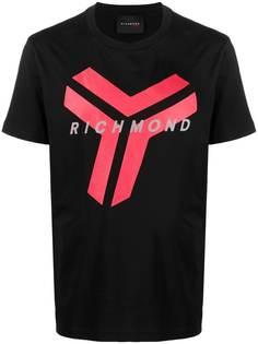John Richmond футболка с короткими рукавами и логотипом