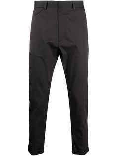 Low Brand зауженные брюки с драпировкой