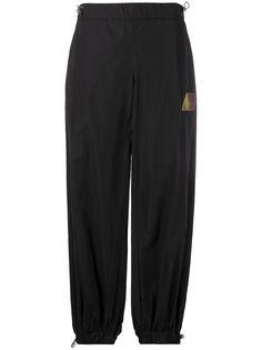 The Attico брюки-шаровары с завышенной талией