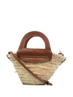 Hereu маленькая соломенная сумка-тоут
