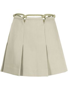 Dion Lee юбка мини с декором в технике макраме