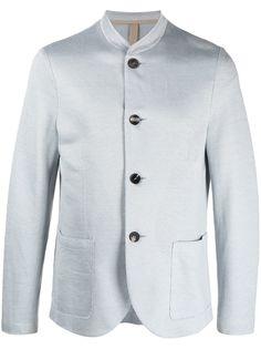 Harris Wharf London пиджак с воротником-стойкой