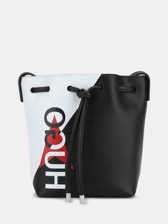 HUGO Кожаная сумка Downtown Draws