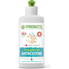 Антисептик для рук Synergetic Увлажнение и ультразащита 99,9%, гель 250 мл