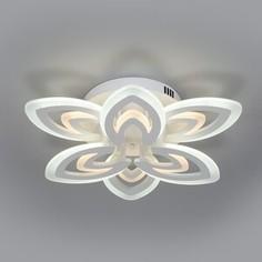 Люстра Eurosvet Потолочная светодиодная Floritta 90227/6 белый