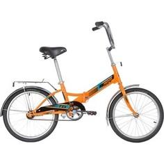 Велосипед NOVATRACK 20 TG20 складной оранжевый