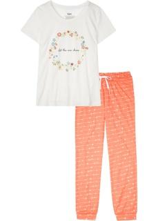 Пижама из биохлопка Bonprix
