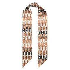 Шелковый шарф-бандо Furla