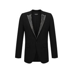 Шерстяной пиджак Dsquared2