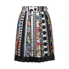 Шелковая юбка Versace