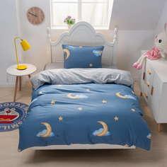 Комплект постельного белья Sofi De Marko Moon синий Детский