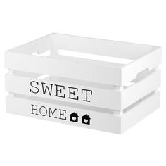 Ящик деревянный ZIHAN Sweet Home L белый