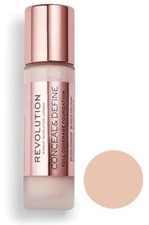 Тональный крем Revolution Makeup Conceal & Define Foundation F4 23 мл