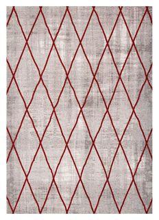 Ковер коллекции «Elegant Tapestry» CROSS-SIL-RED 70 х 140 см 51656 Kover.Ru