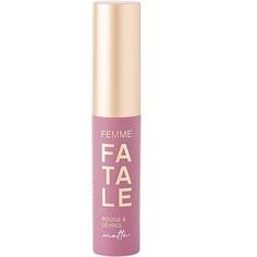 Устойчивая жидкая матовая помада для губ Vivienne Sabo Femme Fatale, тон 06