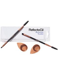 Набор аксессуаров RefectoCil для окрашивания бровей и ресниц в косметичке 1 шт