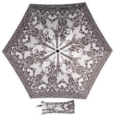 Зонт женский Jean Paul Gaultier mini Tour Eiffel Noir/Blanc