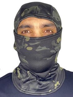 Тактическая балаклава Kamukamu камуфляж dark woodland 735896 ONESIZE