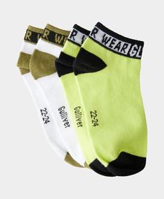 Комплект коротких носков 2 пары Gulliver цв. мультицвет 26-28