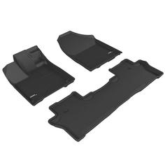 Коврик салона Sotra st 74-00673 текстильный honda pilot 2017- с бортиком черные