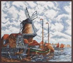 Набор для вышивания Палитра 07.018 Голландский пейзаж 28х24см