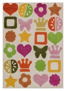 Ковер коллекции «Kids Collection» CHRIS-IVR-MLT 190 х 290 см 36023 Kover.Ru