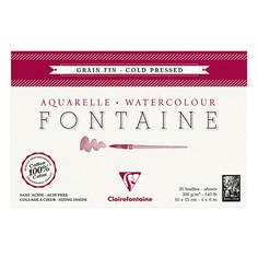 Альбом Clairefontaine FONTAINE (Склейка, Фин (холодный пресс), 36х48, 300г, 25л) Greenwich Line