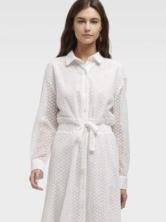 Повседневное платье женское DKNY P9AB9A2W/WHTXL белое XL