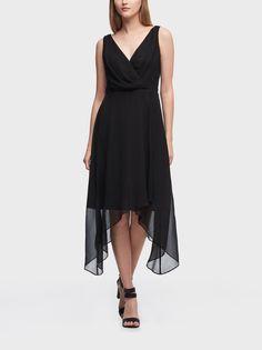 Вечернее платье женское DKNY DD8DI576/BLK2 черное 2