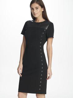 Повседневное платье женское DKNY P8JB7D1U/BLK8 черное 8