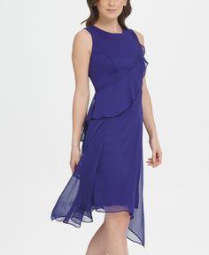 Вечернее платье женское DKNY DD9EI721/BBY4 фиолетовое 4