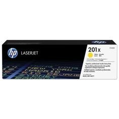 Картридж для лазерного принтера HP CF402X, желтый, оригинал