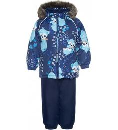 Комплект куртка + полукомбинезон для мальчиков Huppa цв. синий р-р. 86