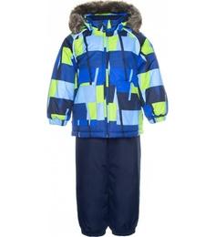 Комплект куртка + полукомбинезон для мальчиков Huppa цв. синий р-р. 80