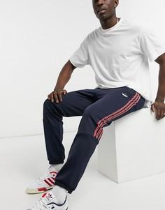 Спортивные джоггеры чернильного оттенка adidas Originals SPRT-Голубой