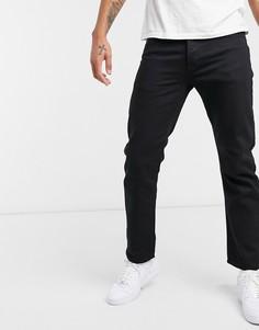 Черные прямые джинсы Topman-Черный цвет
