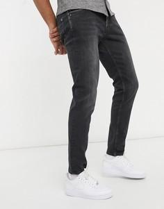 Джинсы классического кроя Pepe Jeans Spike-Черный цвет