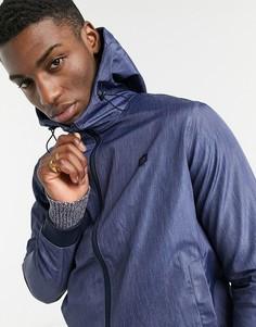 Синяя джинсовая куртка с капюшоном Jack & Jones-Голубой
