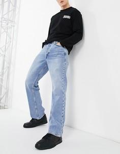Светло-голубые широкие джинсы в винтажном стиле Jack & Jones Intelligence Rob-Голубой
